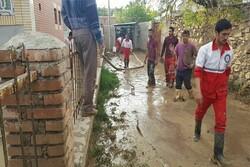 سیل ۵ منزل را در خرطوط مانه و سملقان تخریب کرد / ۳ نفر مفقود شدند