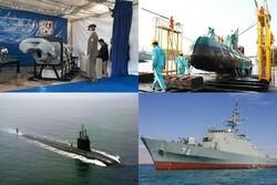 ۴ دستاورد دریایی سال ۹۷/ الحاق پیشرفتهترین زیردریایی در سایه سنگینترین تحریمها