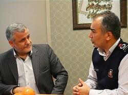 بازدید معاون شهردار تهران از ستاد فرماندهی سازمان آتشنشانی