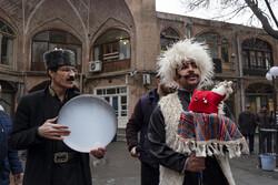 جشن نوروزگاه در بازار بزرگ تبریز
