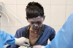 مصدومیت ۴ نفر در حوادث چهارشنبه آخر سال در گلستان