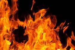 آتشسوزی بزرگ انبار ضایعات در شهرستان کنگان مهار شد