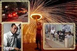 چهارشنبه سوری کم حادثه در لرستان/ وقوع ۳۴ مورد آتشسوزی/ ۲۶ نفر مصدوم شد