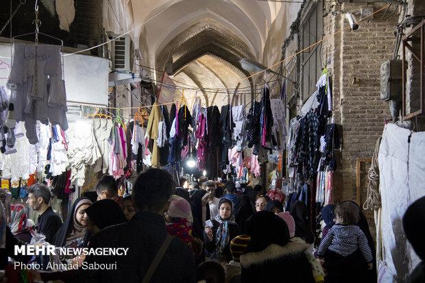 بازار شب عید سمنان