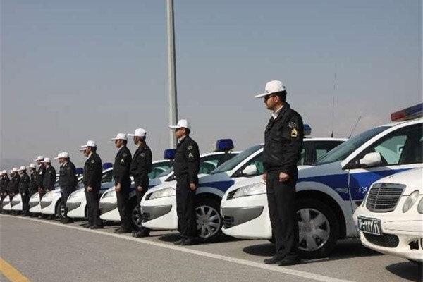 ۲۵ هزار گشت راهور و ۱۵۵ هزار پلیس در نوروز خدمترسانی میکنند