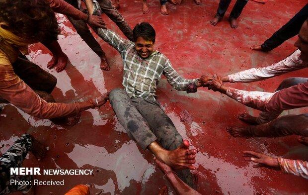 جشنواره هولی در هند