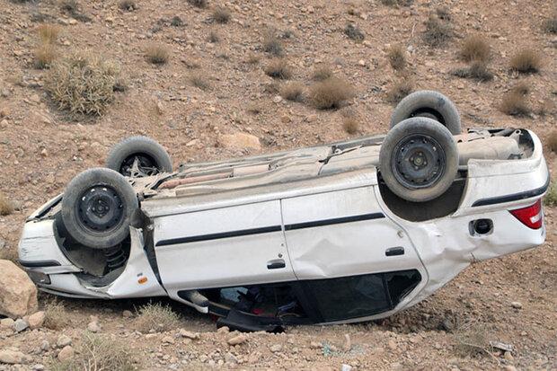 واژگونی سمند در اهواز با ۴ مصدوم/ پسر ۶ ساله فوت شد