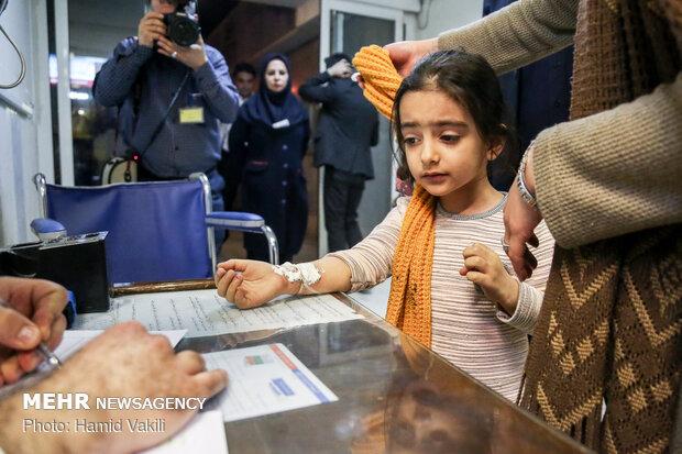 مصدومان چهارشنبه سوری