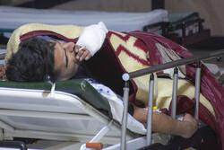مصدومان چهارشنبه سوزی در اراک