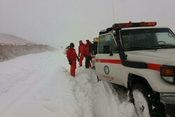 ۳ محور کوهستانی استان سمنان مسدود هستند/بارش بیسابقه برف