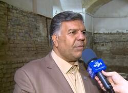 کشف یک حوضخانه تاریخی در مسجد کفشدوزها واقع در بازار کاشان