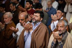 مراسم الاعتكاف المعنوية في مسجد همدان