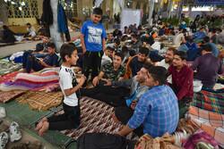 شیراز میں اعتکاف کی معنوی تقریب منعقد