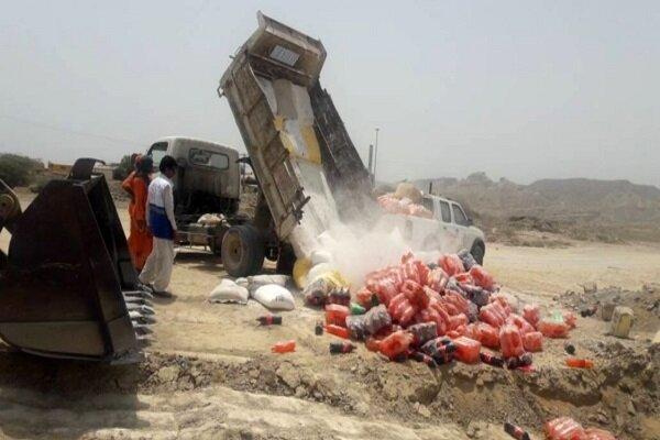 ۲ هزارکیلوگرم مواد غذایی فاسد و غیر بهداشتی معدوم سازی شد