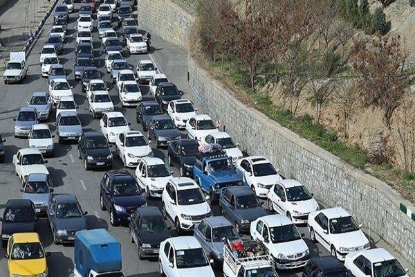 ترافیک در کندوان و هراز پرحجم است