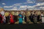 احتفالية ضخمة لعيد النوروز في سنندج ترحيباً بالربيع /صور