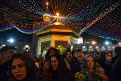 مراسم بدء السنة الفارسية الجديدة من العتبة الرضوية مشهد /صور
