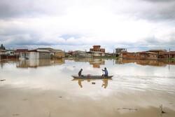 شدت گرفتن سیلاب در روستاهای استان گلستان