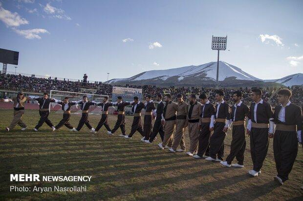جشن بزرگ نوروز در سنندج