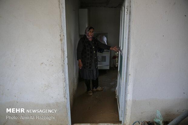 اولین روز نوروز سیل زدگان مازندران