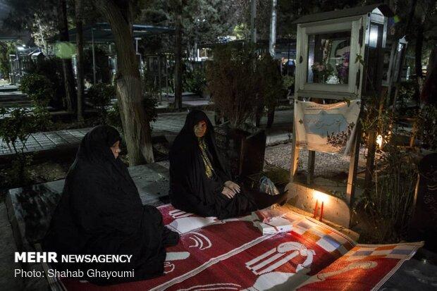 تحویل سال ۱۳۹۸ هجری شمسی در بهشت زهرای تهران