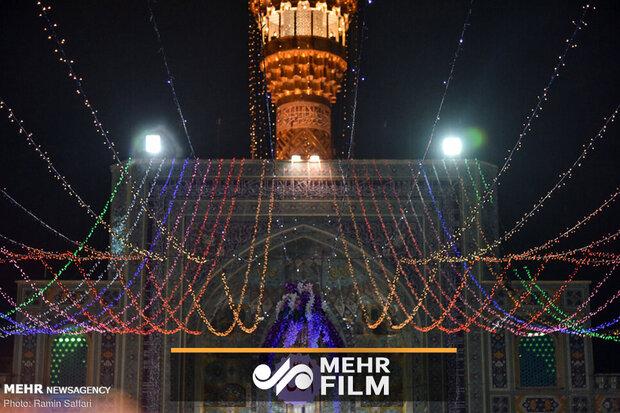 مراسم سال تحویل در نقاط مختلف ایران