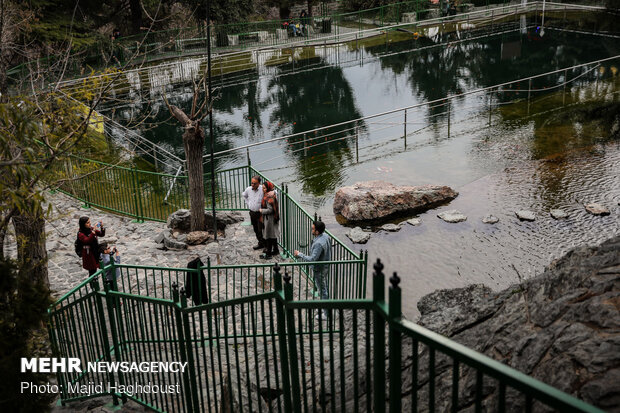 Tehran's Jamshidieh Park on 1st day of spring