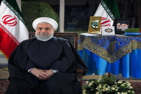 Cumhurbaşkanı Ruhani'den yeni yıl mesajı