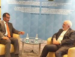 معاون وزیر خارجه عراق با ظریف دیدار کرد