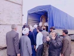 توزیع  ۱۰ هزار  پرس غذا بین سیل زدگان شرق گلستان از محل موقوفات