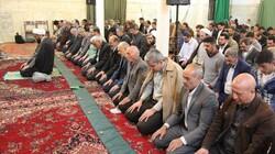 برپایی نمازهای جماعت مسجد جامع همدان به امامت امام جمعه همدان