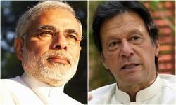 بھارتی وزير اعظم مودی کا پاکستانی وزیر اعظم عمران خان کو مبارکباد کا پیغام