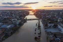 Aerial photos of Aqqala devastating flood