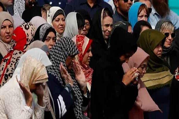 «آردرن» در نمازجمعه گریه کرد/نیوزیلند همراه با مسلمانان عزاداراست