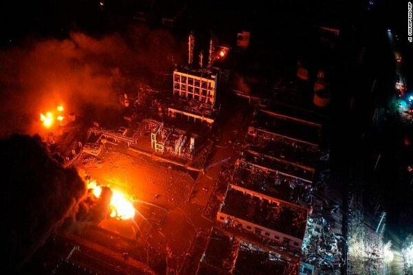 چین کے کیمیائی پلانٹ میں دھماکے میں 47 افراد ہلاک