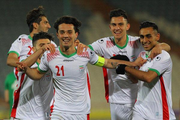 پیروزی تیم فوتبال امید ایران بر ترکمنستان/ گام اول طبق پیشبینی