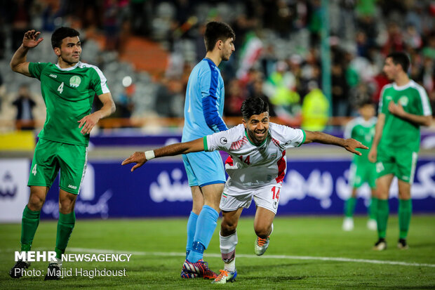 Iran 3-1 Turkmenistan at AFC U23 C'ship qualifiers