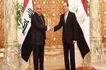 قاہرہ میں عادل عبدالمہدی اور عبدالفتاح السیسی کی ملاقات