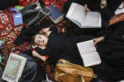 تبریزی خواتین کی اعتکاف کی معنوی عبادت میں شرکت
