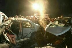 تصادف دو خودرو در محور فومن به ماسوله ۴ کشته برجا گذاشت