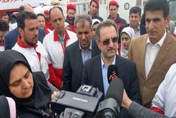 دستور استاندار تهران برای حضور در مناطق سیل گرفته استان گلستان