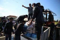 جمعآوری کمکهای شهروندان تهران برای سیلزندگان گلستان