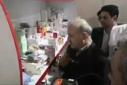 وزیر بهداشت از کمپ درمانی سیل زدگان گلستان بازدید کرد