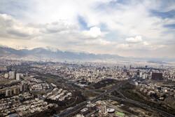 هوای تهران در اولین روز اردیبهشت پاک است