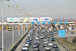 ۷ میلیون و ۳۰۰ هزار تردد در جادههای قزوین ثبت شد