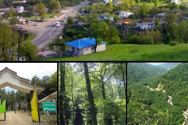 Bibi Yanlu forest park in Astara