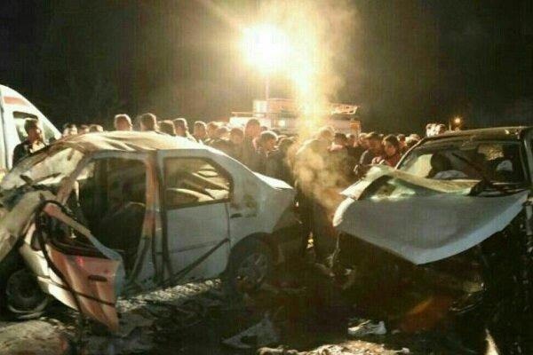 ۹ کشته در تصادفات اولین جمعه سال نو,