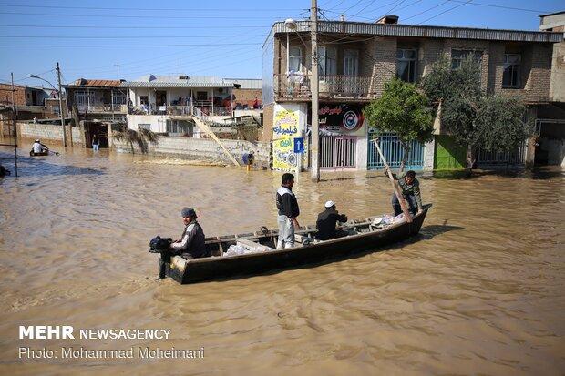 اعلام اقدامات ۱۴ گانه حمایتی در مناطق سیل زده استان گلستان