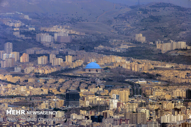 Tehran's weather condition during Nowruz holidays