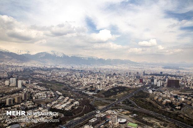 هوای تهران قابل قبول شد/ بارندگی شاخص را به ۷۰ کاهش داد